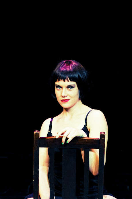 Paige McGhee plays Sally Bowles in the Allegro Stage Company's 'Cabaret.' Courtesy Siggi Ragnar