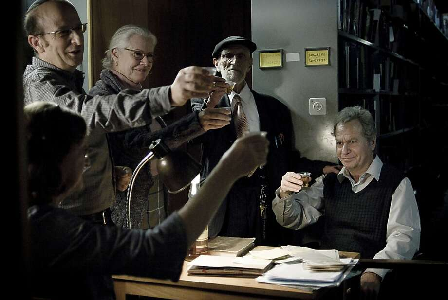 "Shlomo Bar Aba as Eliezer Shkolnik in, ""Footnote."" Photo: Ren Mendelson, Sony Pictures Classics"