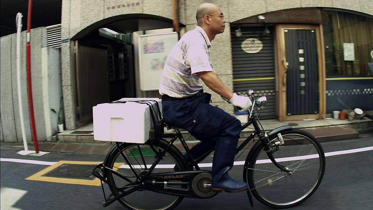 Yoshikazu Ono in JIRO DREAMS OF SUSHI, a Magnolia Pictures release.