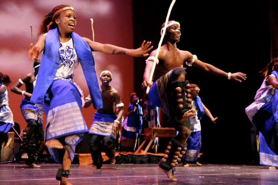 """Spirit of Uganda"" performs Sunday, April 1, at Fairfield University's Regina A. Quick Center for the Arts. Photo: Contributed Photo"