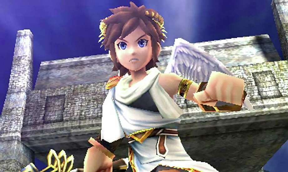 """In this video game image provided by Nintendo, a scene is shown from """"Kid Icarus: Uprising."""" (AP Photo/Nintendo)"""