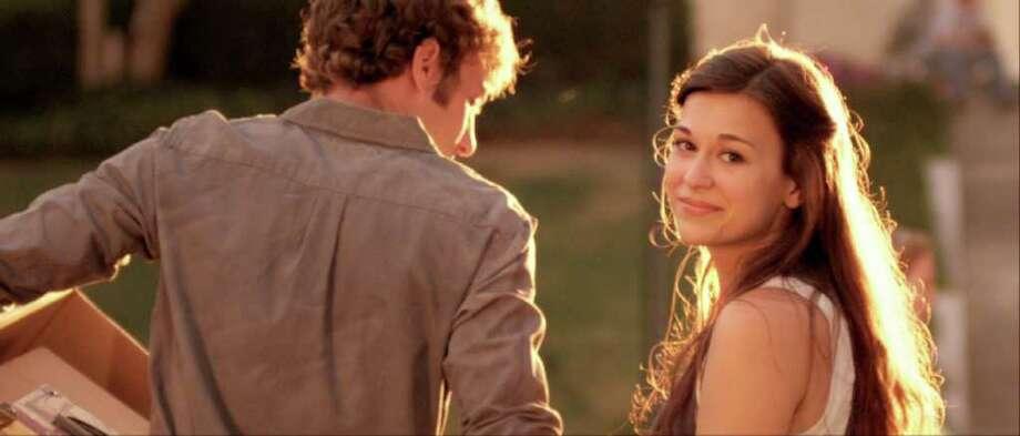 Jason Burkey as Jason and Rachel Hendrix as Hannah in OCTOBER BABY. Photo Credit: Samuel Goldwyn Films