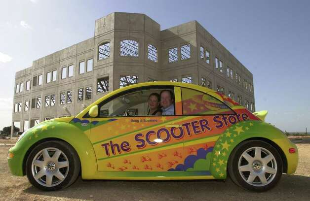 The Scooter Store headquarters when it was under construction in 2001. Photo: Robert McLeroy, SAN ANTONIO EXPRESS-NEWS