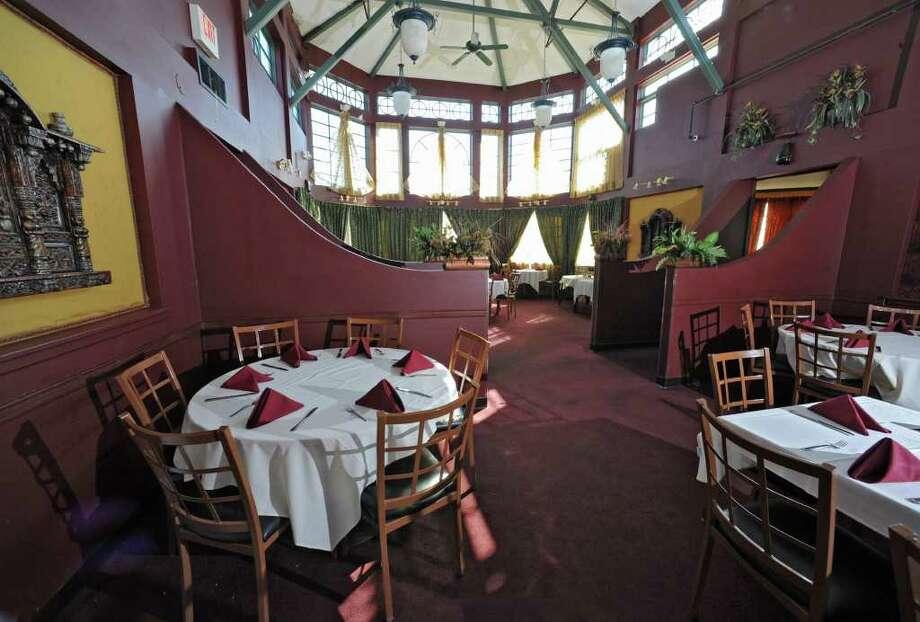 Interior of Zaika restaurant on Tuesday March 20, 2012 in Clifton Park, N.Y. (Lori Van Buren / Times Union) Photo: Lori Van Buren