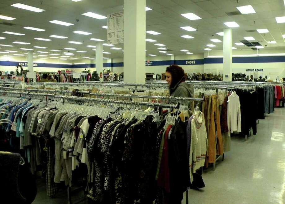 Teens are flocking to thrift stores hoping to put together a unique wardrobe on a tight budget. (Photo by Alexis Willey)