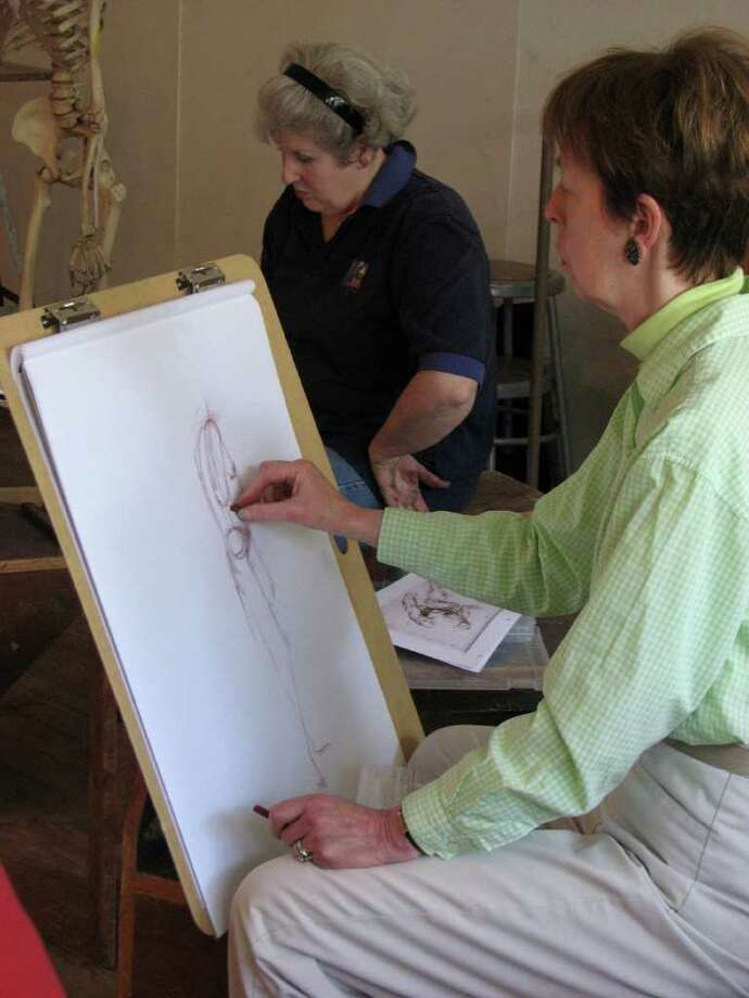 """Saturday:""""Draw Until You Drop"""" at Silvermine Arts Center in New Canaan. For information, visit silvermineart.org. Photo: Contributed Photo"""