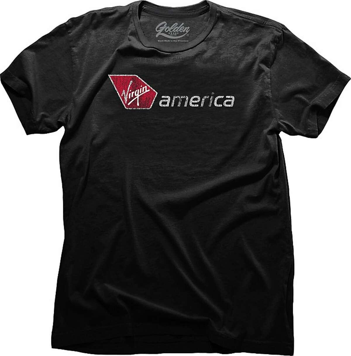 Virgin America design by Golden Goods