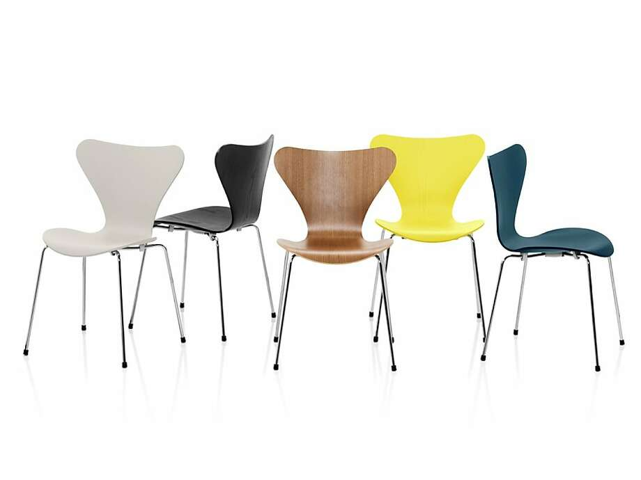 The updated Series 7 chair.  Fritz Hansen