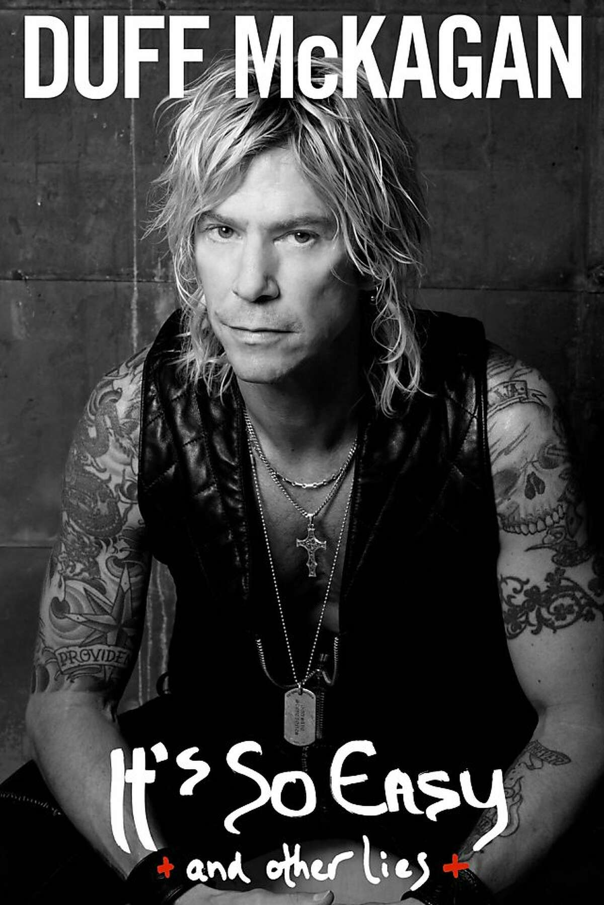 """Duff McKagan, """"It's So Easy (and Other Lies)"""" cover."""