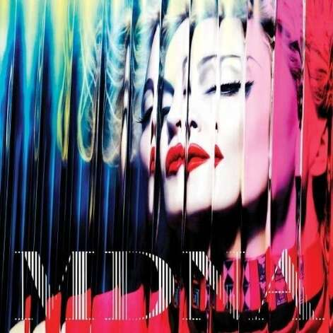 "CD cover: Madonna's ""MDNA"" Photo: Boy Toy"