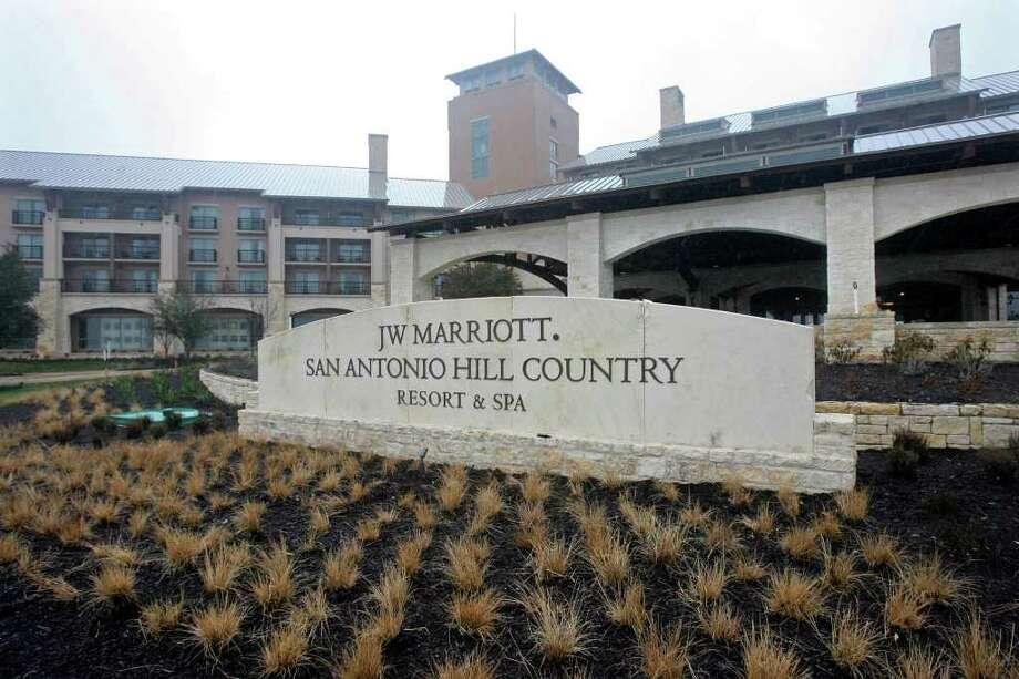 BUSINESS    JW Marriott Hill Country resort  January 13, 2010.   Tom Reel/Staff Photo: TOM REEL, SAN ANTONIO EXPRESS-NEWS / © 2010 San Antonio Express-News