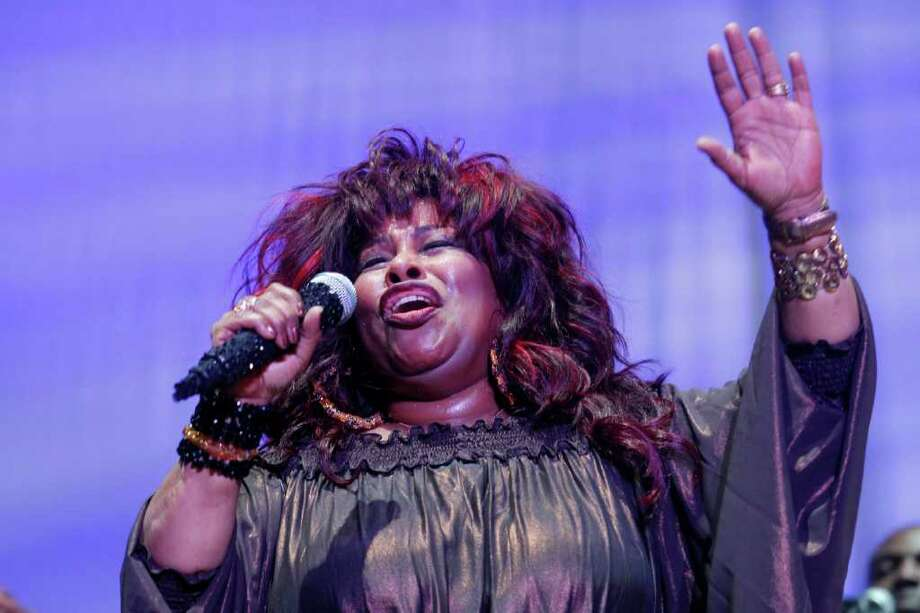 FILE - In this July 2, 2011, file photo, Chaka Khan performs at the 2011 Essence Music Festival in New Orleans. The rock act is on the list of Rock and Roll Hall of Fame nominees for the 2012 class released Tuesday, Sept. 27, 2011. (AP Photo/Gerald Herbert, File) Photo: Gerald Herbert / AP2011