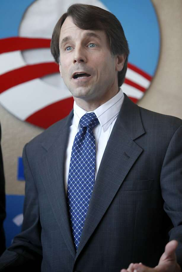 Insurance Commissioner Dave Jones spoke at the conference on The Affordable Care Act. Obama for America in Sacramento held a press conference on healthcare benefits for young people on Wednesday, March 21, 2012 in Sacramento California. Young women shared their personal stories of how the Affordable Care Act has helped and will help them. Photo: Sean Culligan, The Chronicle