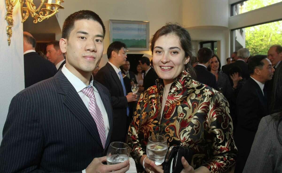 Bryan Lengoc, and council member Helena Brown