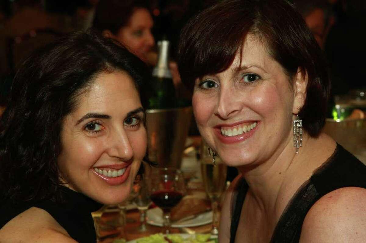 Lara Clark, left, and Raana Bell