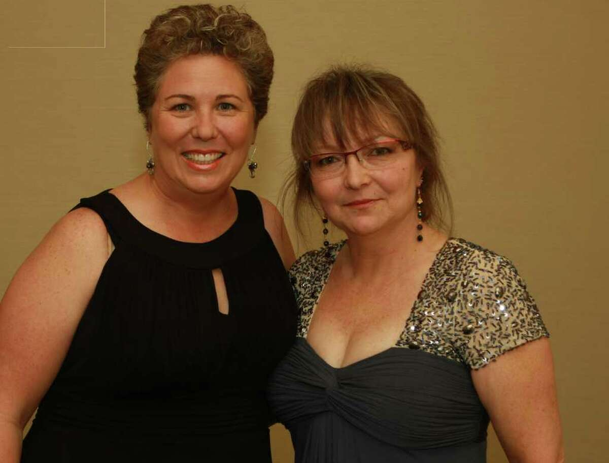 Cindy Doublesin, left, and Dede Hill