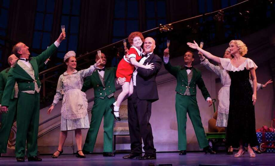 """Theatre Under The Stars brings the Tony-winning musical """"Annie"""" to the Hobby Center this weekend. Photo: Bruce Bennett / Bruce Bennett 2012 and beyond"""