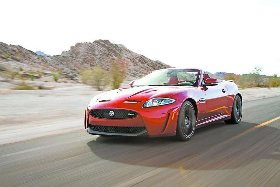 The XKR-S Convertible is the most powerful and fastest convertible that Jaguar has ever built, rocketing from 0 to 60 mph in 4.2 seconds, with a top speed capability of 186 mph. Photo: Courtesy Of Jaguar