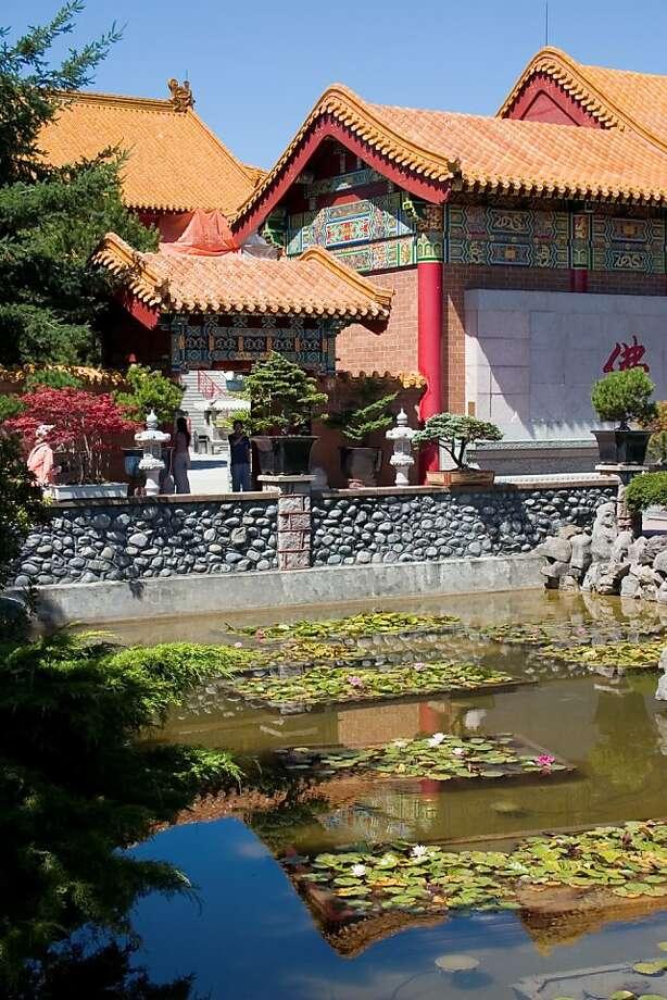 The International Buddhist Temple in Richmond. Photo: Dannielle Hayes, Tourism B.C.