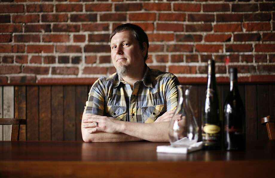 Caleb Taft is the wine director and manager at Camino in Oakland California. Photo: Sean Culligan, The Chronicle