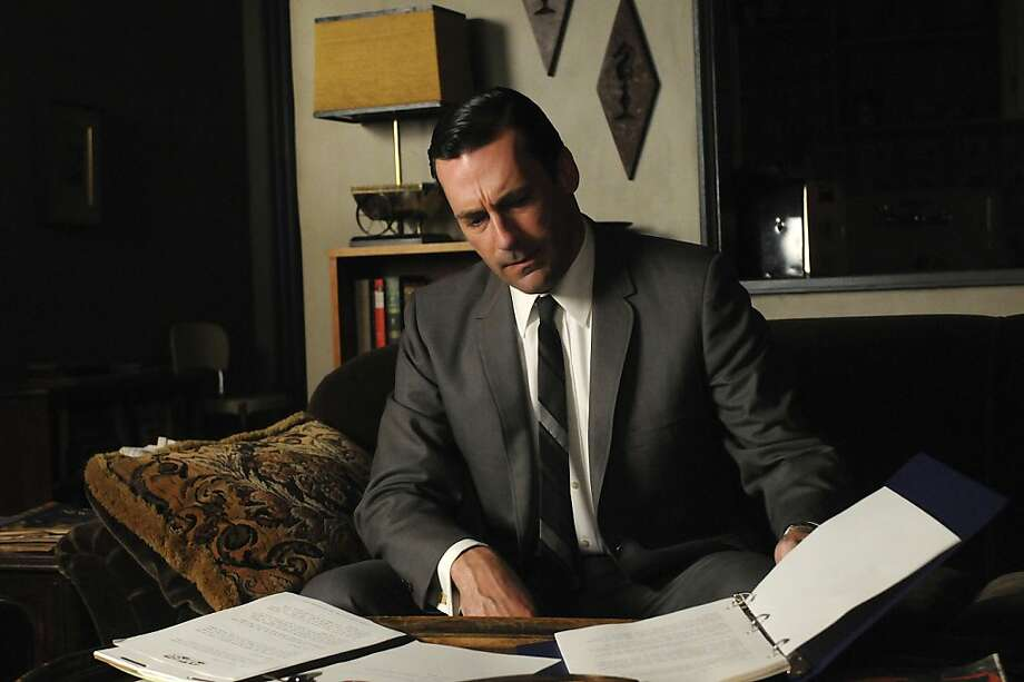 """In this image released by AMC, Jon Hamm portrays Don Draper in a scene from """"Mad Men."""" (AP Photo/AMC) Photo: Associated Press"""