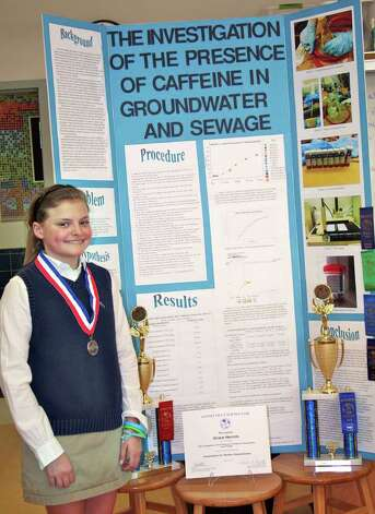 Science projects for 7th graders 7th grader spotlights water at
