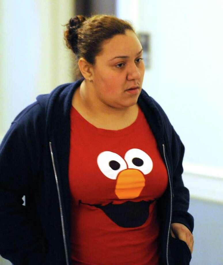 Jasmine Tirado enters court for her appearance in Schenectady City Court in Schenectady, N.Y. Feb. 15, 2012. (Skip Dickstein / Times Union archvie) Photo: SKIP DICKSTEIN / 2011