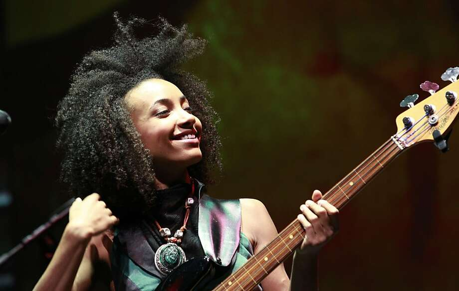Esperanza Spalding is among artists who will appear in SFJazz's first week in its new home. Photo: Elaine Thompson, Associated Press