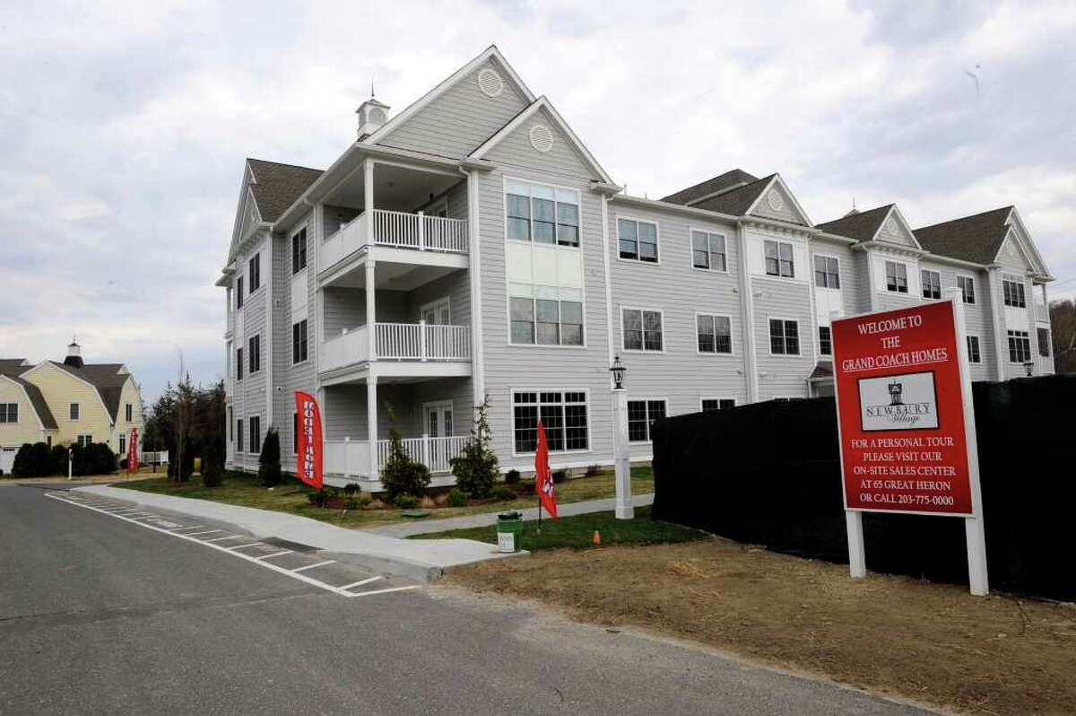 The Grand is one of the styles of housing available at Newbury Village, an adult community in Brookfield, Friday, March 23, 2012.
