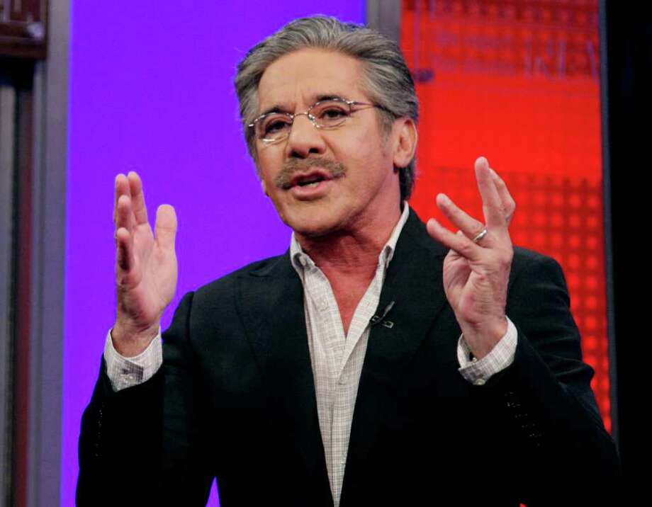 """FILE - In this June 25, 2010 file photo, Fox News Channel commentator Geraldo Rivera speaks on the """"Fox & friends"""" television program in New York. Rivera said Friday, March 23, 2012 that Florida teenager Trayvon Martin's hoodie is as much responsible for his death as the neighborhood watch captain who shot him. Rivera said Friday on """"Fox & Friends"""" that people wearing hooded sweatshirts are often going to be perceived as a menace regardless. (AP Photo/Richard Drew, file) Photo: Richard Drew / AP2010"""