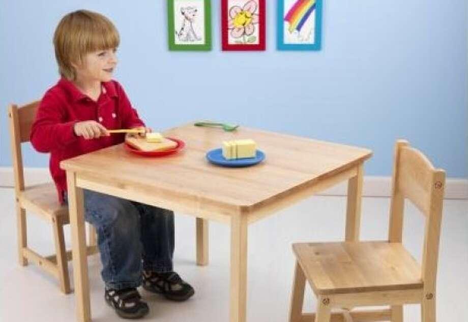 More or Less: Kid's Table Photo: KidKraft