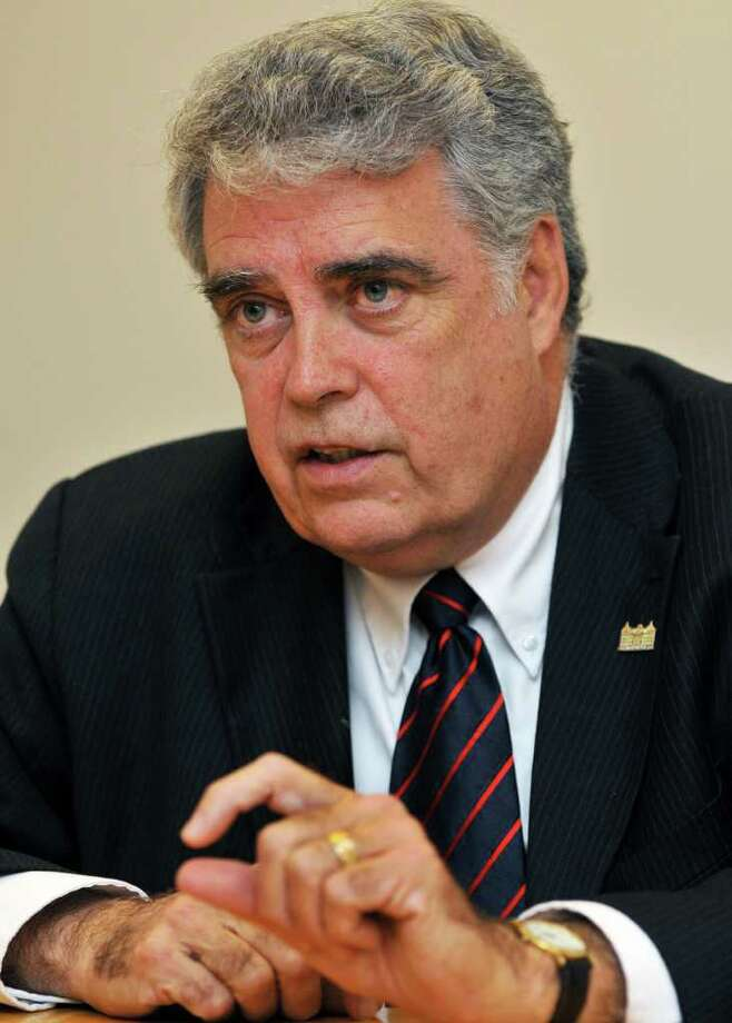 NYS Assemblyman Jack McEneny at the Times Union for an editorial board meeting Tuesday afternoon October 12, 2010.  (John Carl D'Annibale / Times Union) Photo: John Carl D'Annibale / 00010621A