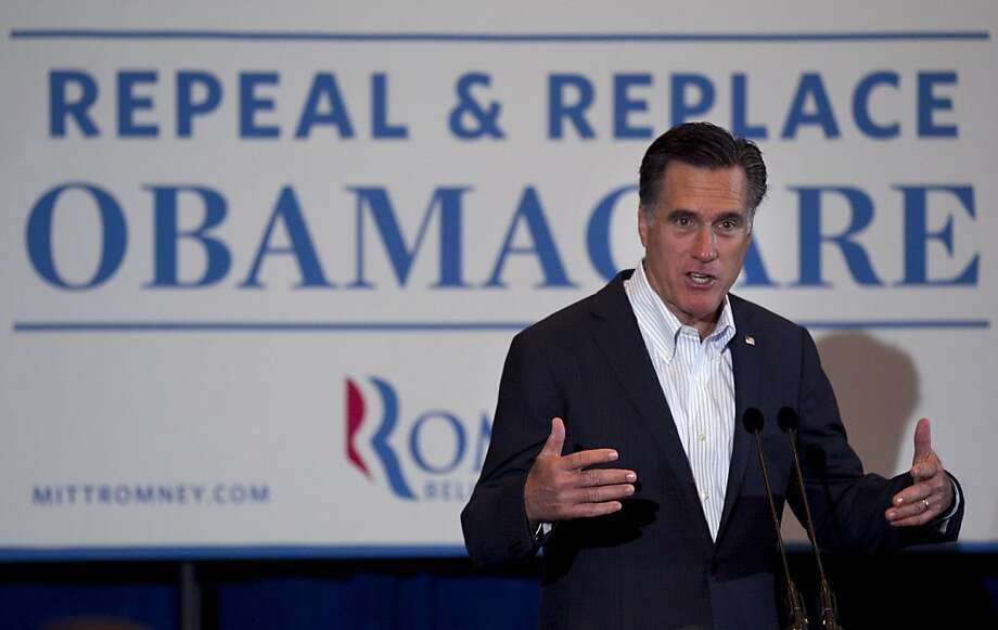 Republican presidential candidate, former Massachusetts Gov. Mitt Romney, campaigns in Metairie, La., Friday, March 23, 2012. Photo: Steven Senne, Associated Press