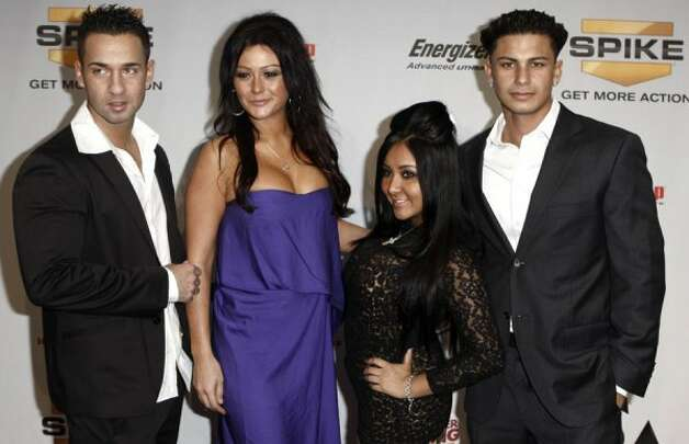 "2010: The cast of ""Jersey Shore"""