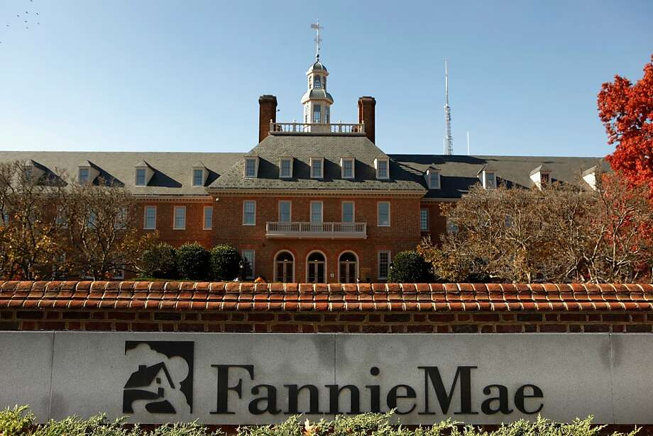 WASHINGTON, DC - NOVEMBER 09:  Fannie Mae's headquarters in the nation's capital are seen November 9, 2011 in Washington, DC. Citing the rise in defaults on loans it has guranteed, the government-controlled mortgage giant is asking the federal governmentfor $7.8 billion in aid to covers its losses in the in the third quarter of FY 2011. Fannie has received $112.6 billion so far from the Treasury Department - the most expensive bailout of a single company. Photo: Chip Somodevilla, Getty Images