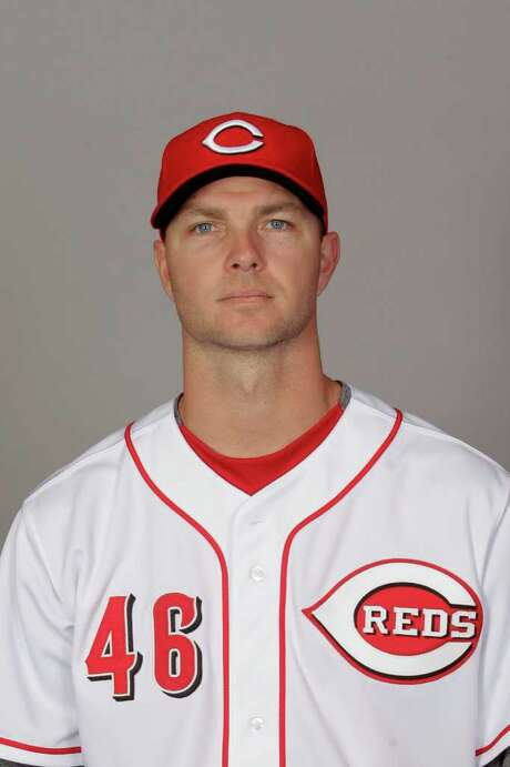 This is a 2012 photo of Ryan Madson of the Cincinnati Reds baseball team.  This image reflects the Cincinnati Reds active roster as of Feb. 25, 2012 when this image was taken. (AP Photo/Jae C. Hong) Photo: Jae C. Hong / MLBPV AP