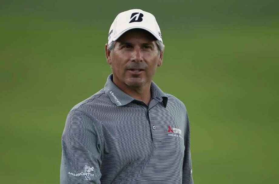 BILOXI, MS - MARCH 24:  Fred Couples looks on at the 18th green during the second round of the Mississippi Gulf Resort Classic held at Fallen Oak Golf Club on March 24, 2012 in Biloxi, Mississippi.  (Photo by Michael Cohen/Getty Images) Photo: Michael Cohen / 2012 Getty Images
