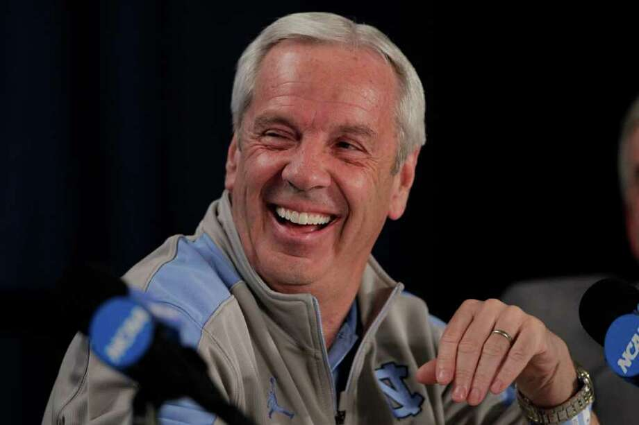 North Carolina's Roy Williams always has a tough time dealing with facing his former team, Kansas. Photo: Jeff Roberson / AP
