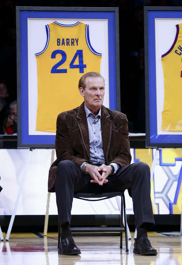 Rick Barry says he admires Stephen Curry's ability to keep improving his game. Photo: Jeff Chiu, Associated Press