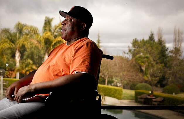 Baseball Hall of Fame Giant Willie McCovey is seen in his Woodside, Calif., home on Wednesday, Feb. 1, 2012. Photo: Russell Yip, The Chronicle