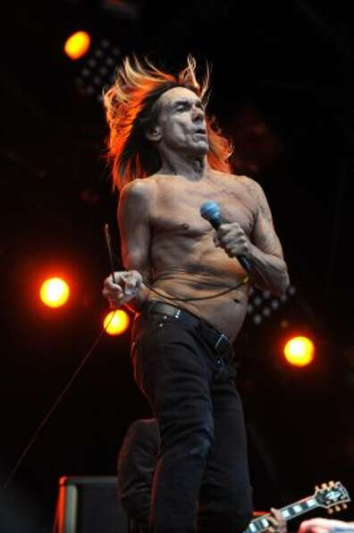 Iggy Pop & the Stooges7:50 p.m. June 1, Stage 6