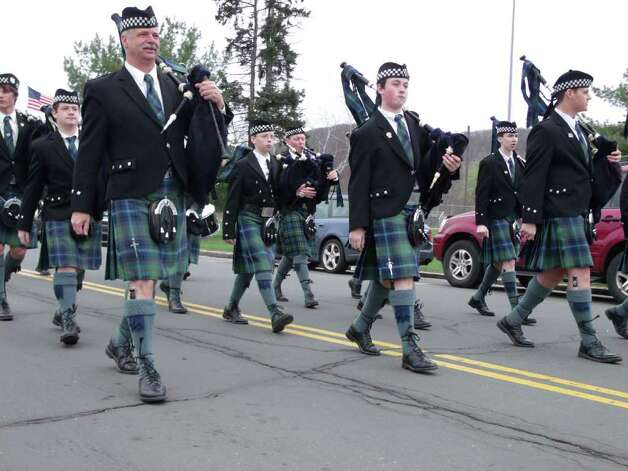 Sunday: Danbury's St. Patrick's Day Parade will be held a week after the holiday. Photo: Todd Tracy / Connecticut Post