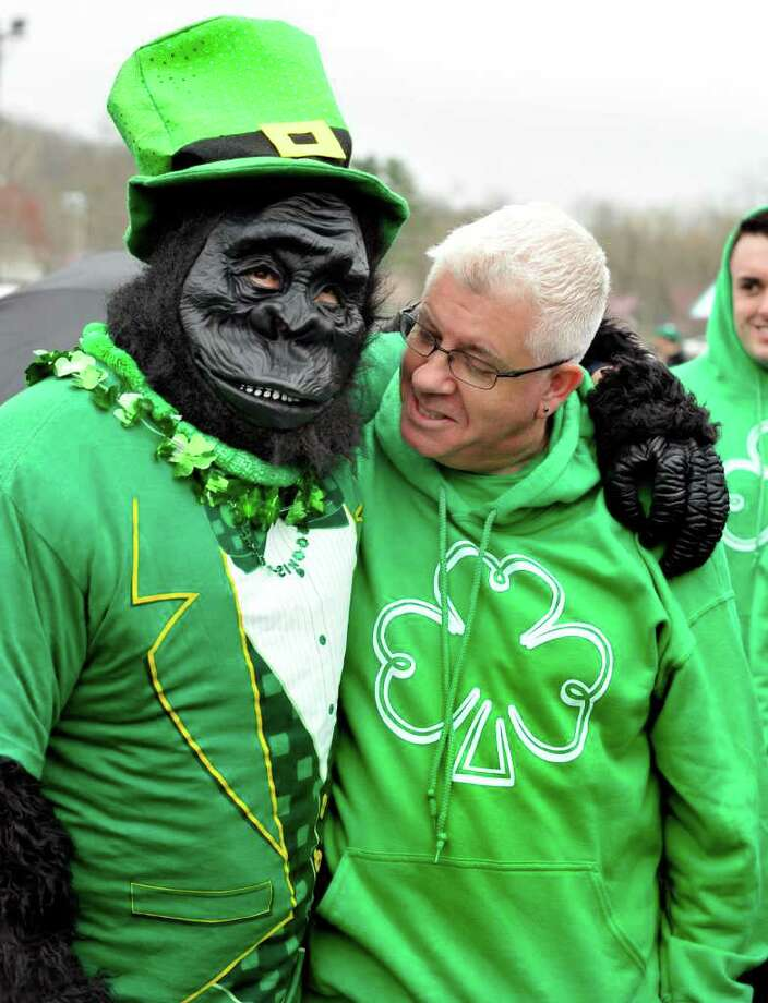 The St. Patrick's Day parade is held in Danbury Sunday, March 25, 2012. Photo: Michael Duffy