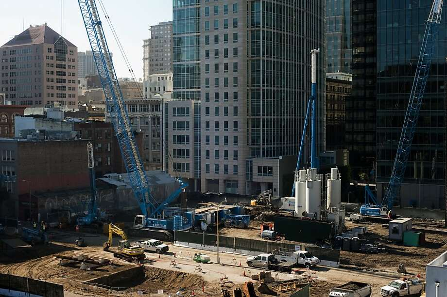 The Transbay Terminal will connect to a 1.2-mile tunnel in S.F., promised as part of a transit funding deal. Photo: Dania Maxwell, Special To The Chronicle
