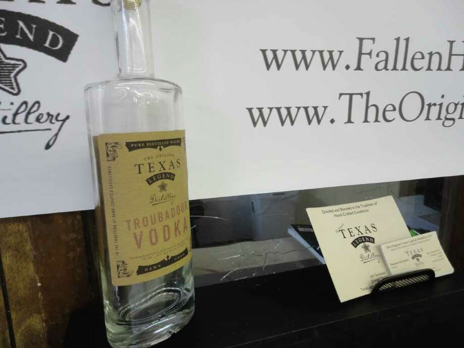 Thomas Germann plans to open The Original Texas Legend Distillery in Orange in the next two months. Photo: Julie Garcia/The Enterprise