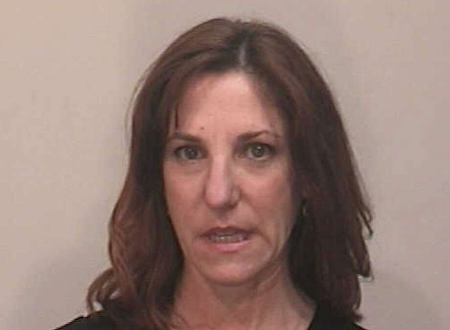 Carla Zandonella of Lindley Drive was charged with negligent homicide in connection with an accident that caused the death of a motorcyclist last September on Black Rock Turnpike. Photo: Fairfield Police Department / Fairfield Citizen contributed