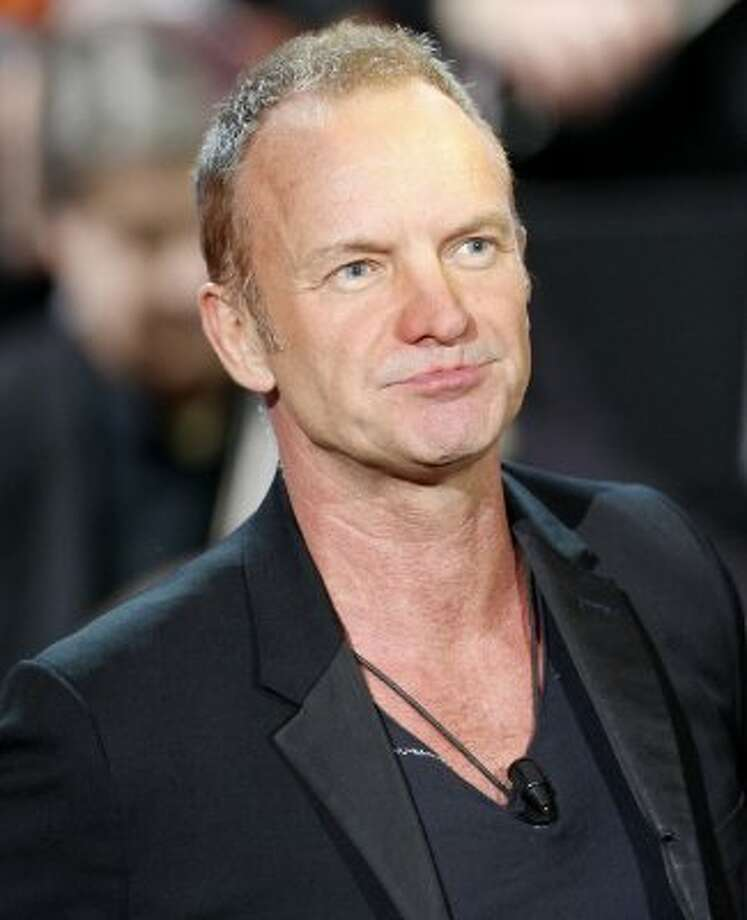 Sting, aka Gordon Matthew Sumner.