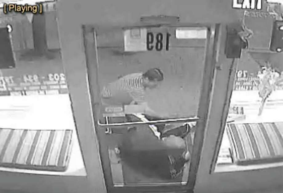 The West Haven Police Department is looking for any information on an assault and robbery that occurred on 3/22/12 at approximately 7:30 pm in the area of Boston Post Road and Admiral Street. The victim and suspect got off a city bus in that area and the suspect hit the victim numerous times and then robbed him. The suspect in the attached photos is described as a light skinned male around twenty to thirty years of age. Any information please call Detective Puglia at 203-937-3908 or Text an anonymous tip to WHPD at 847-411. Photo: Contributed Photo