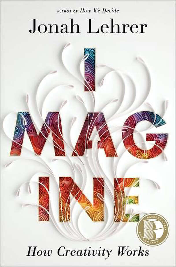 """imagine: How Creativity Works"" byt Jonah Lehrer Photo: Jonah Lehrer"