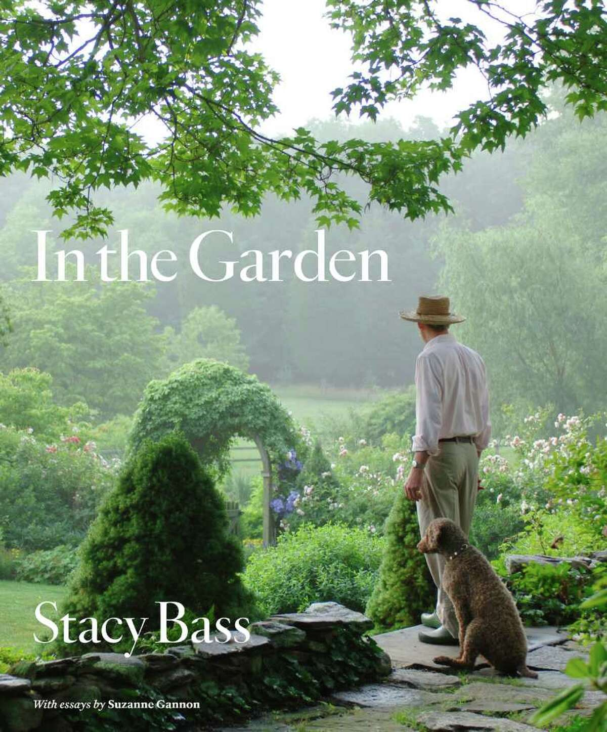 """Westport fine-art photographer Stacy Bass is preparing for the release of her first book, """"In the Garden."""" Above is the book's cover design."""